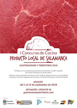 Cartel_I_Concurso_Cocina_Producto_Local_Salamanca_CARNE MORUCHA Y TERNERA CHARRA